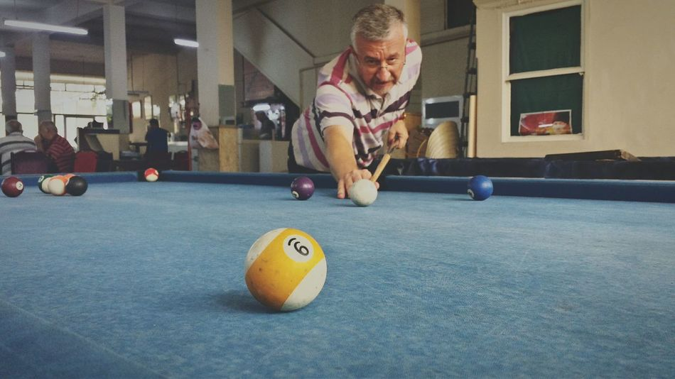Playing Pool King Of 8-ball Snooker Getting Competitive Strike Pool Table Funny Moments The Street Photographer - 2015 EyeEm Awards The Photojournalist - 2015 EyeEm Awards EyeEm Best Shots