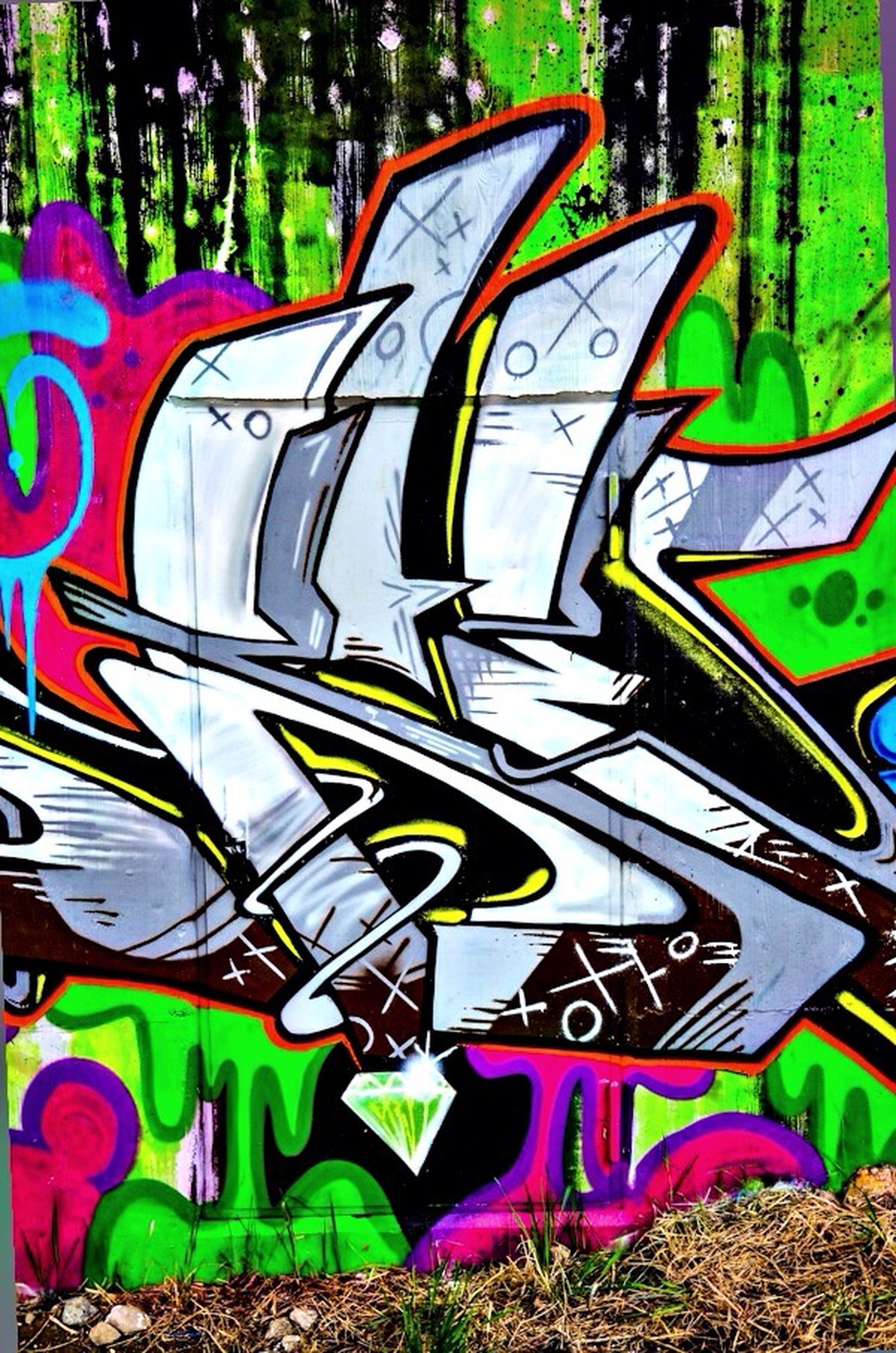 multi colored, art, creativity, art and craft, graffiti, colorful, pattern, green color, design, wall - building feature, backgrounds, built structure, day, full frame, no people, street art, architecture, outdoors, shape, yellow