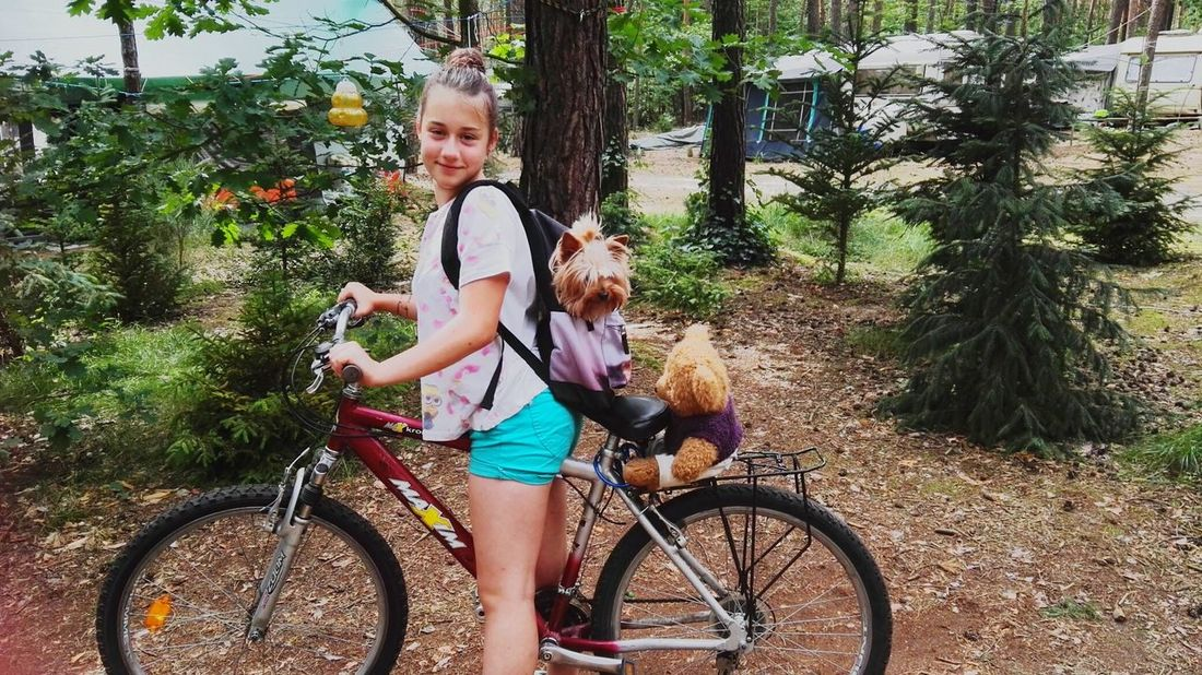 The Journey Is The Destination My sister, her taddy bear & our dog are going to travel 🚵👑Travel Trip Sister Dog Forest Campinglife Taddy Bear Summertime Holidayfun First Eyeem Photo