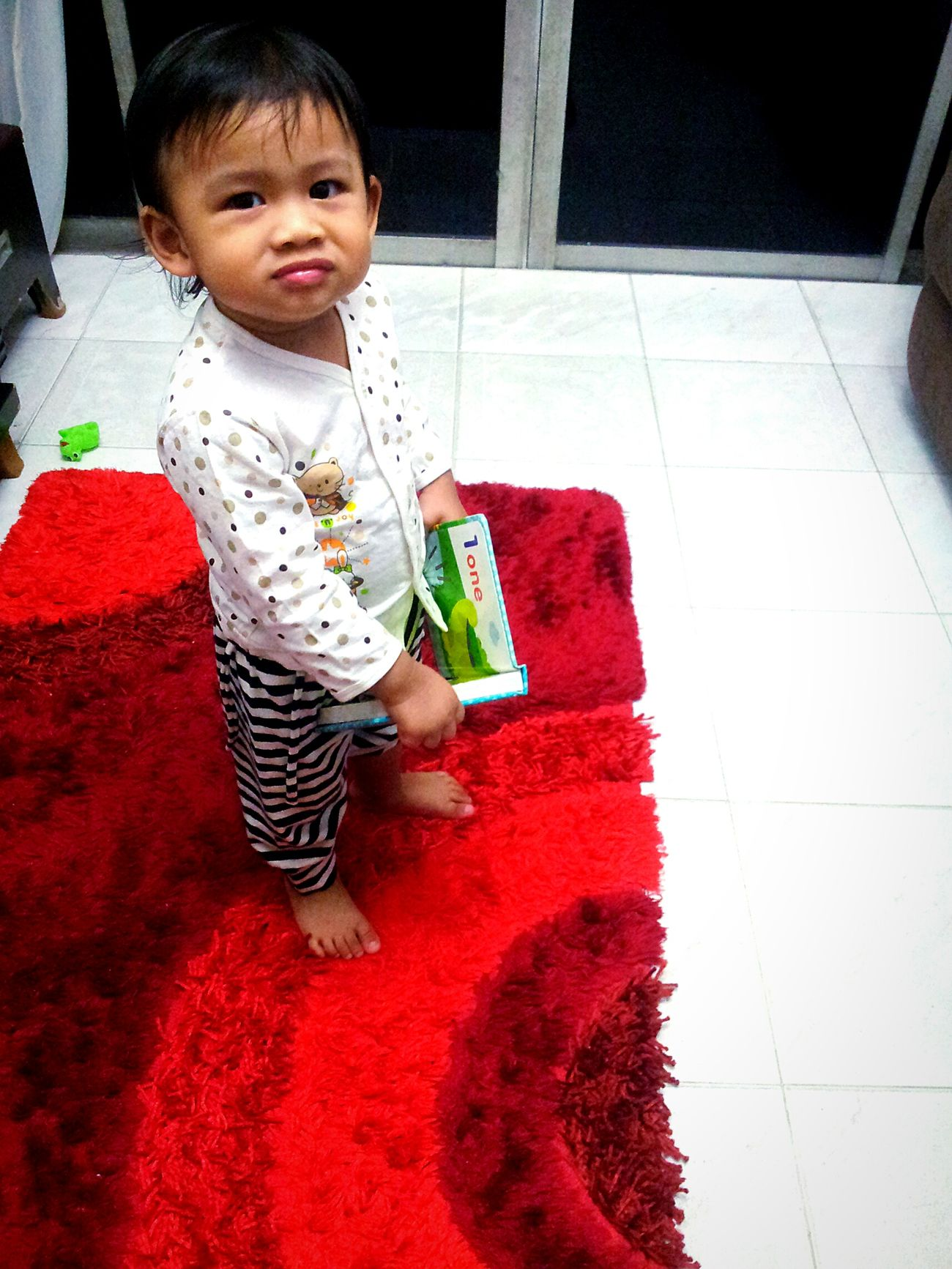 This little cute monster make a lot of chaos. You really make me lose some weight. Baby Sitting Adorable Babygirl