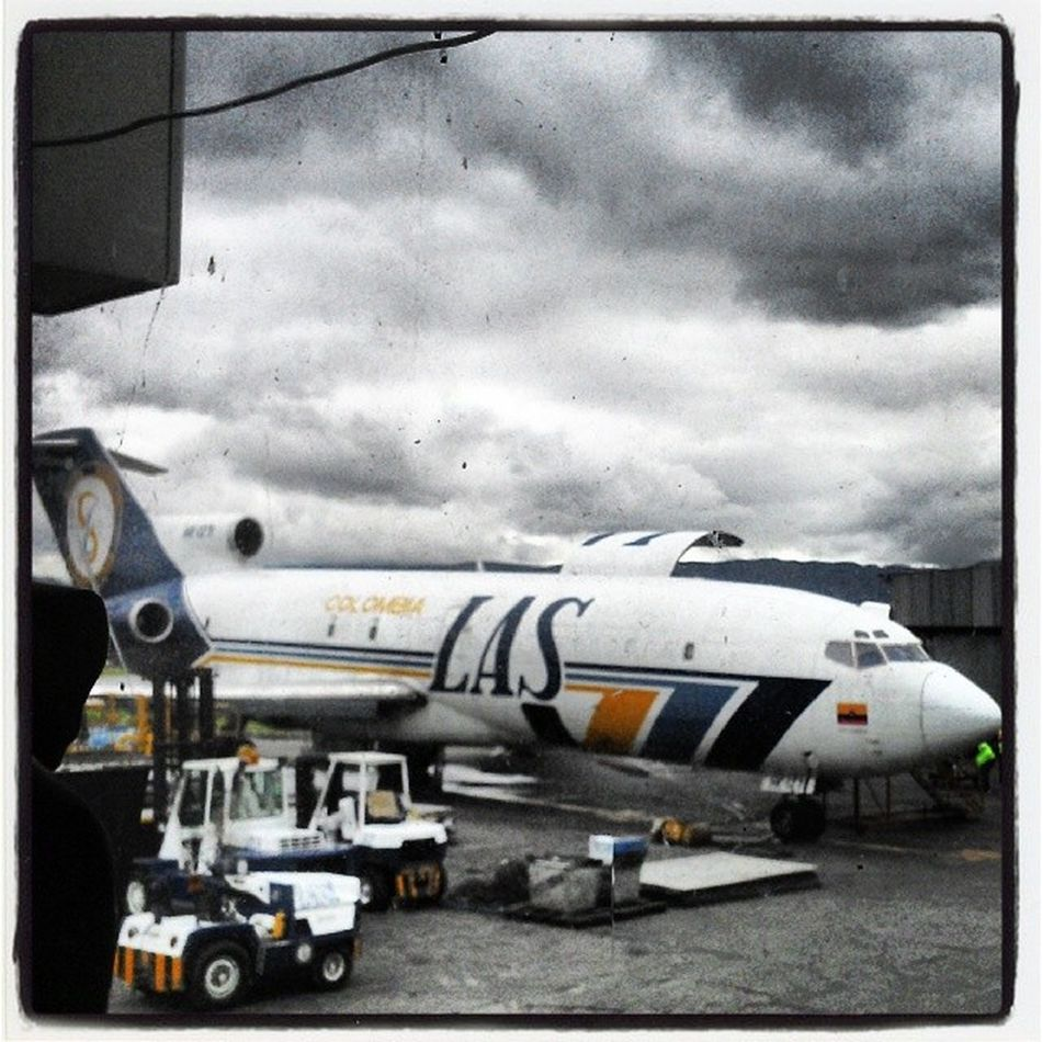 Boeing 727 Airport Aviation