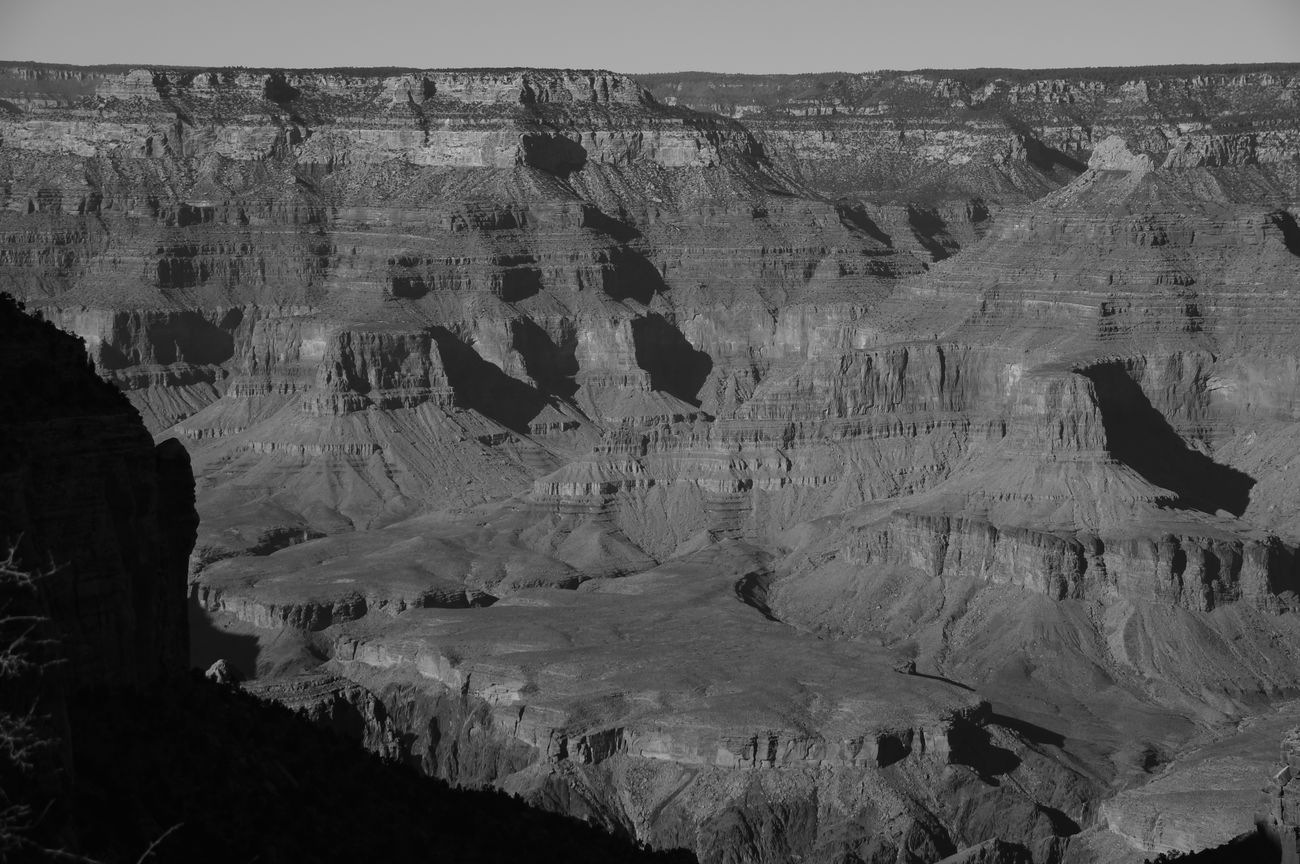 Arizona Beauty Beauty Of Decay Black And White Canyon Erosion Geography Grand Canyon Landscape Nature No People Outdoors Rock Sony A37 Tranquil Scene