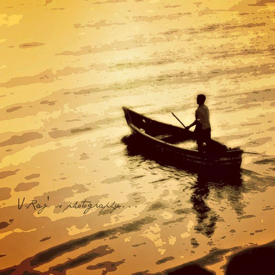 In the Ocean- Conjoiner rejoinder poisoner concealer revelator Voyage Ocean Mumbai Marindrive sunset