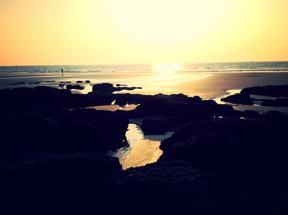 Life Is A Beach Beachphotography Ashvem Beach Life Enjoying Life EyeEm Best Shots Bestoftheday Eyem Best Shots Skyporn Being A Beach Bum Sunset Silhouettes Sunset 43 Golden Moments The Great Outdoors - 2016 EyeEm Awards EyeEm