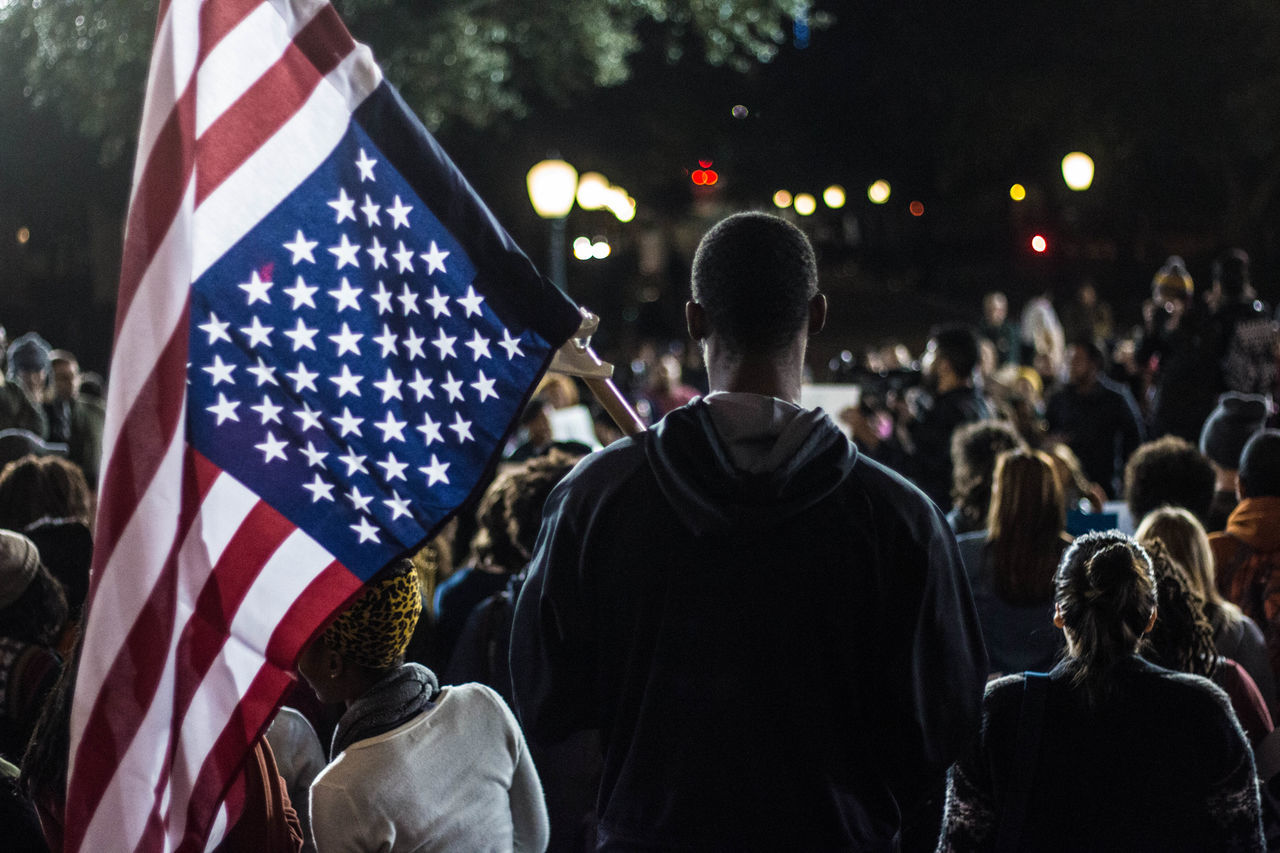 Beautiful stock photos of american flag, American Culture, American Flag, Austin, Crowd