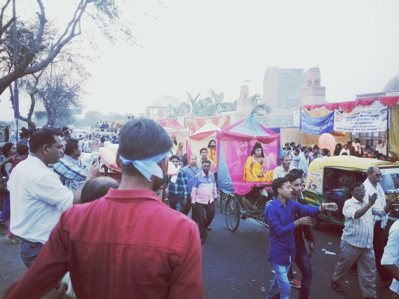 Ambedkar jayanti 126th (birth anniversary) Feeling Thankful Feeling Blessed Feeling Inspired Outdoors Large Group Of People Crowd Multi Colored Our God Who Gave Us All Human Rights