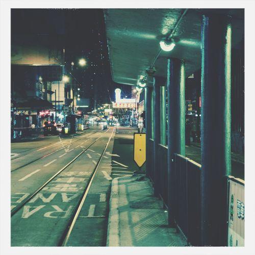 等 Traveling In HongKong HongKongtram
