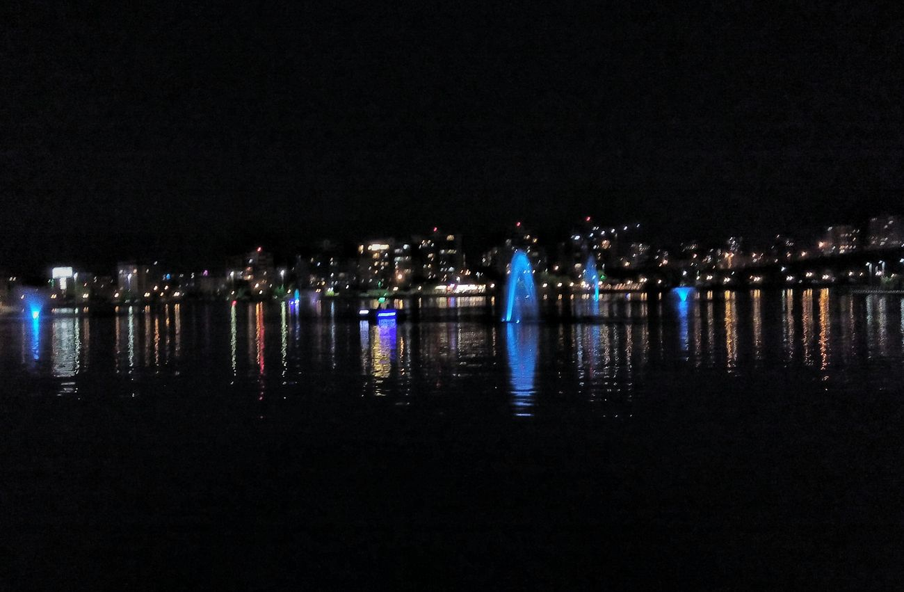 First Eyeem Photo Hello World Like4like Reflection Reflections Göksu Park Night Fullscreen