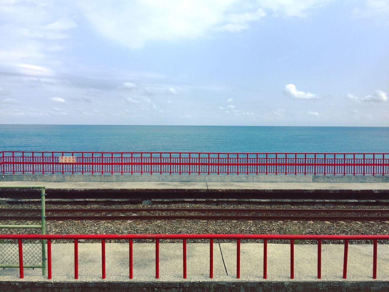 EyeEmNewHere Sea No People Beauty In Nature Travel Photography Miles Away Enjoying Life Station EyeEm Taiwan Transportation
