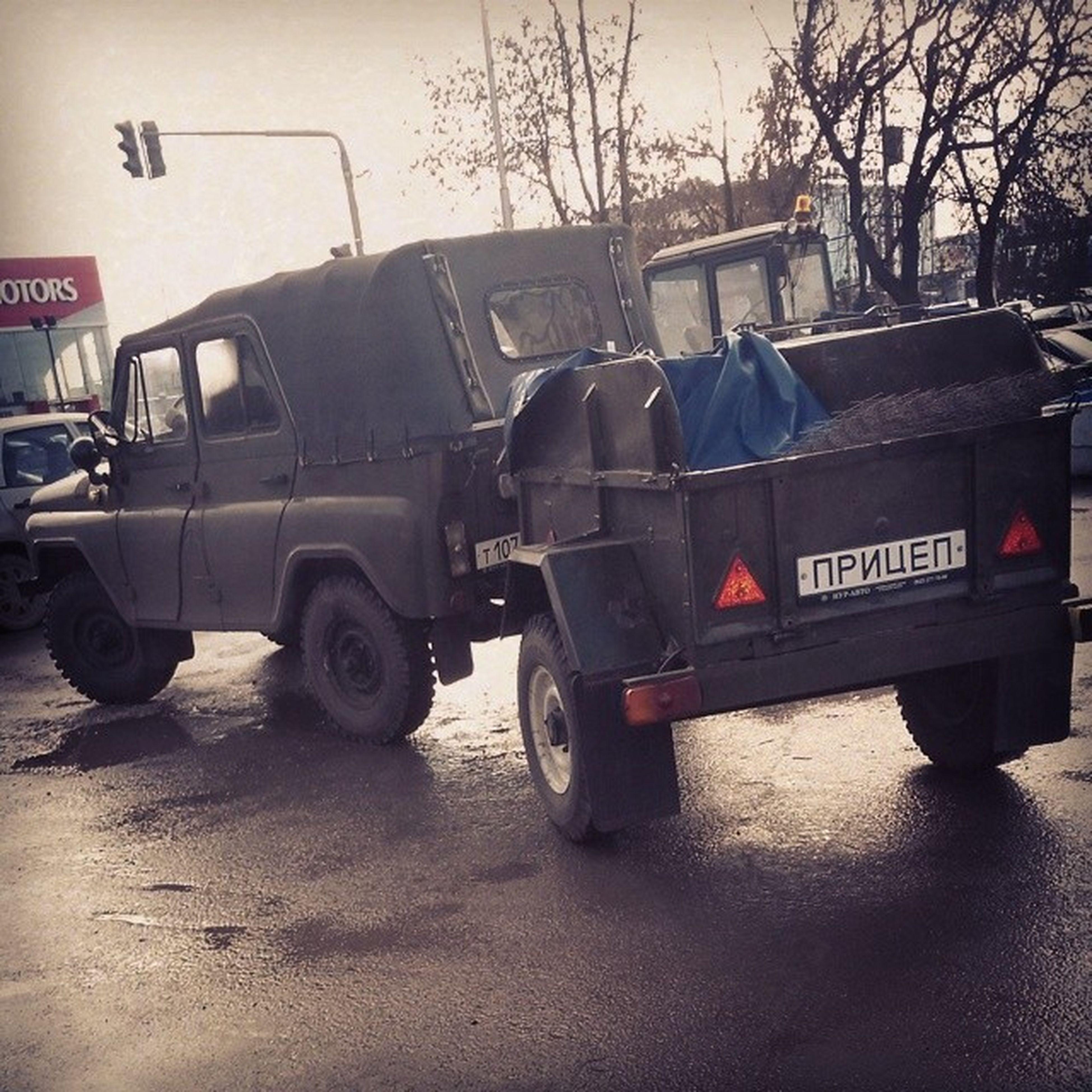 Kznavto уазик С Прицепом )))