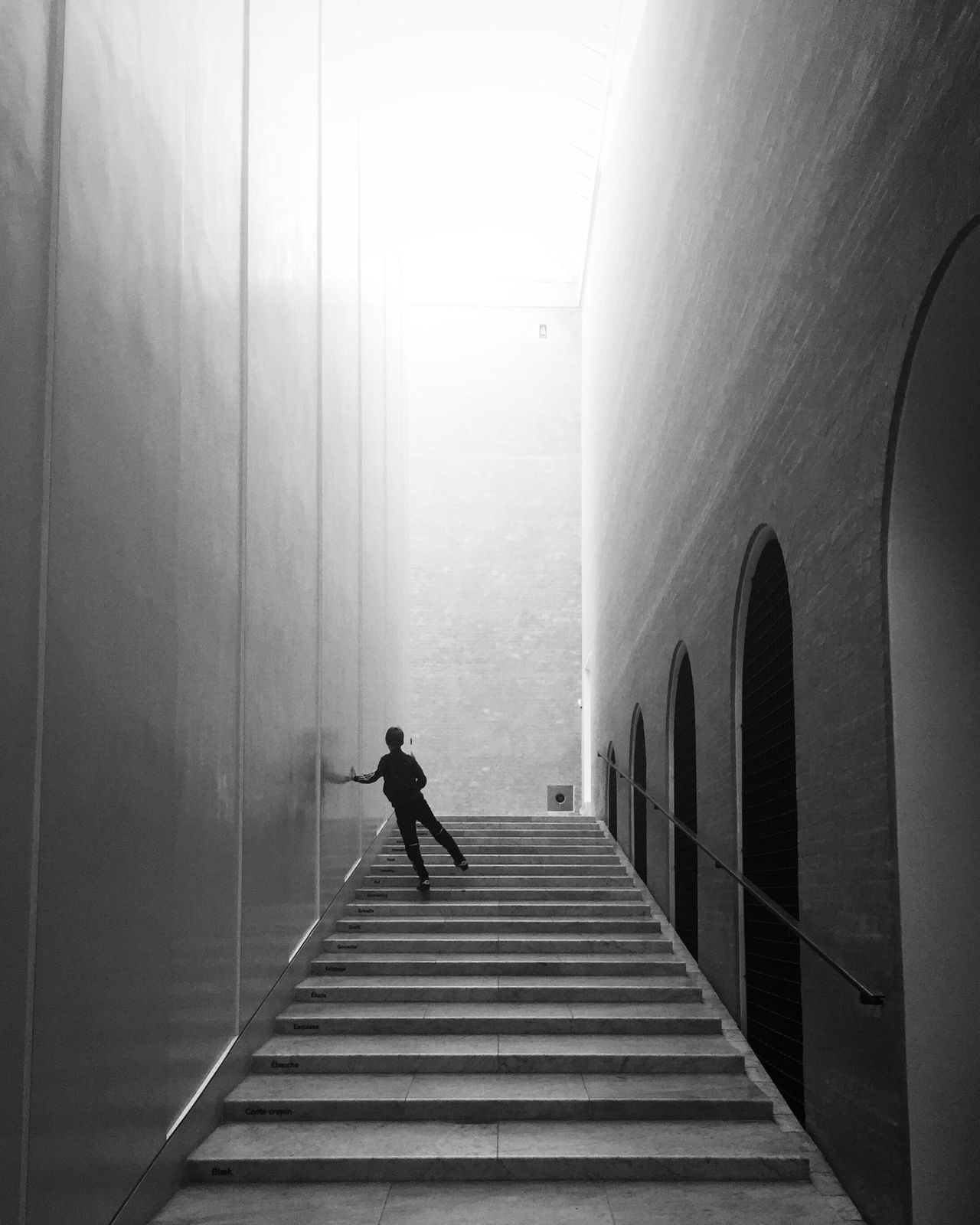 Steps And Staircases Silhouette EyeEm Best Shots - Black + White Bw_collection Monochrome Shootermag Black And White