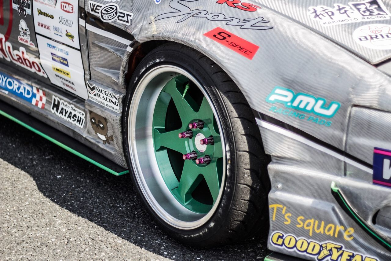 180SX 2 Car Drift 180sx Racecar Racing Nissan Wheel Motorsport