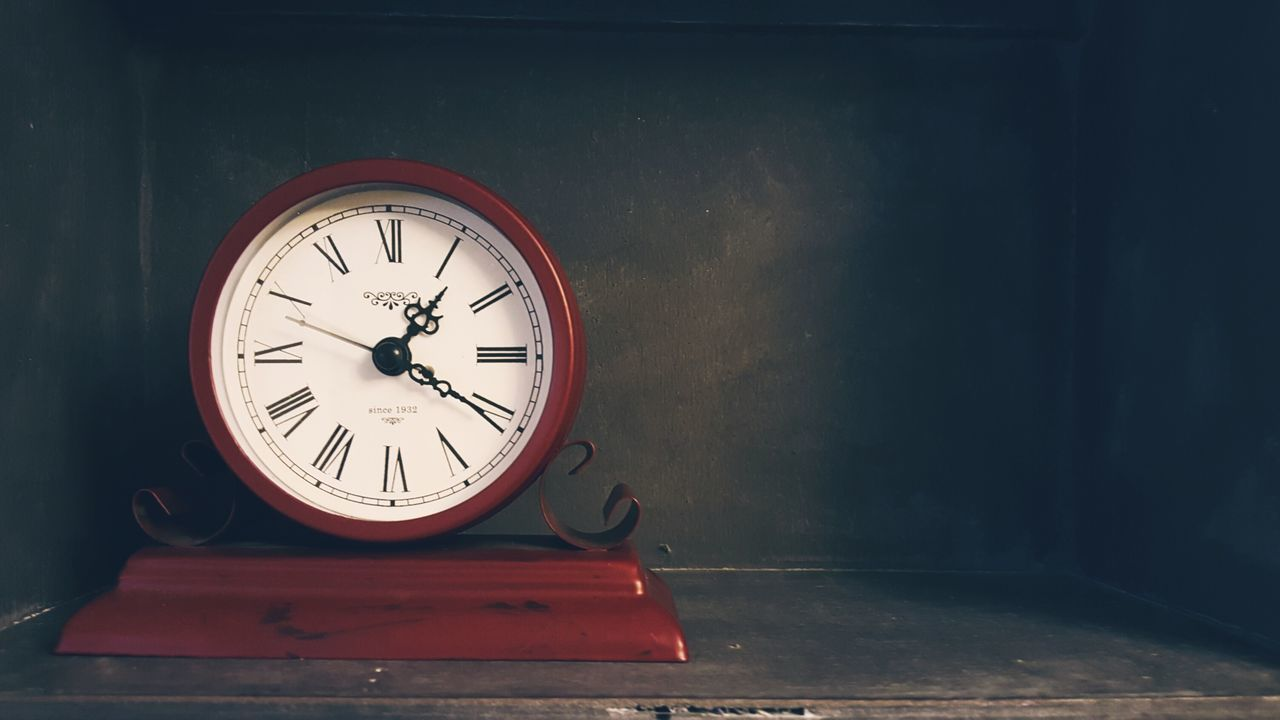 time, clock, indoors, clock face, no people, minute hand, roman numeral, gauge, day, close-up, hour hand