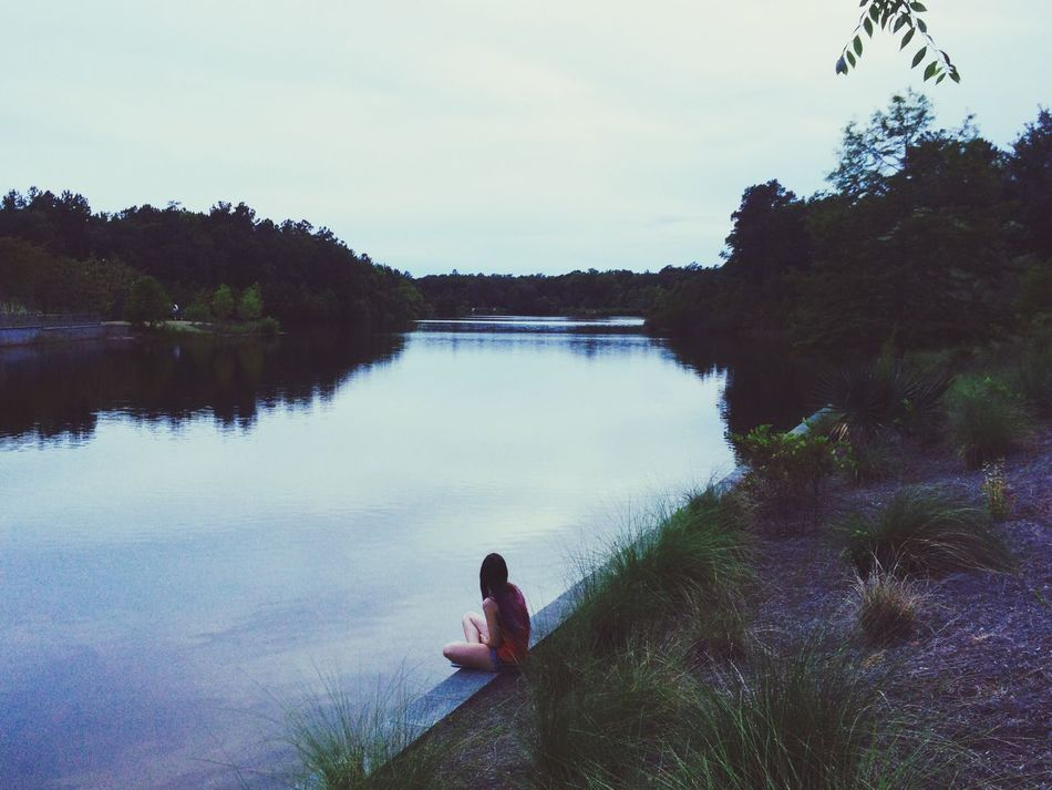 """""""Where Am I"""" Whereami Whereismymind Pond Life Lostintime Lostinthought"""