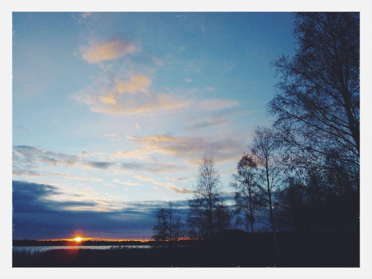 Kuivasjärvi Sunset Nature Walking Around