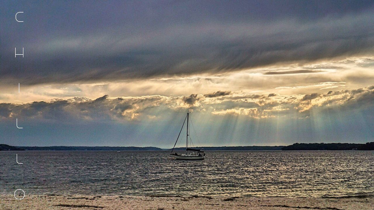 Stormy weather Storm Storm Cloud Dark Sky Clouds Clouds And Sky Boat Water Longisland New York Beach Landscape Seascape Photooftheday Photography Sony A6000 Eye4photography  Skyporn Wind Spring Sunrays Heaven EyeEm EyeEm Masterclass Beauty