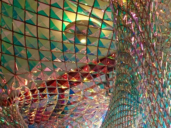 Southbank Southbank London Royalfestivalhall  Rfh LoveFestival Chandelier Holographic Lighting