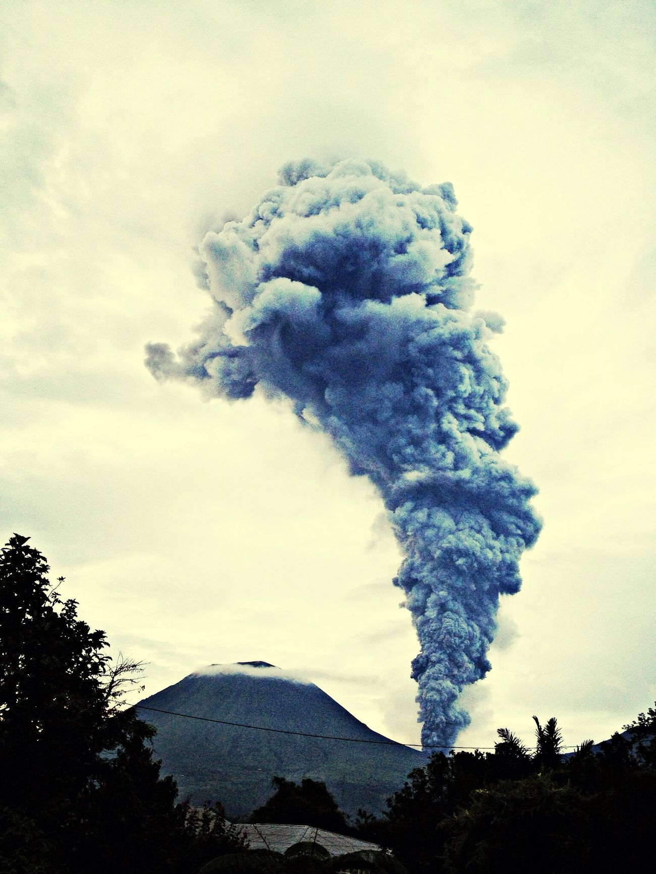 Volcano Ash Cloud Ash The Explorer - 2014 EyeEm Awards