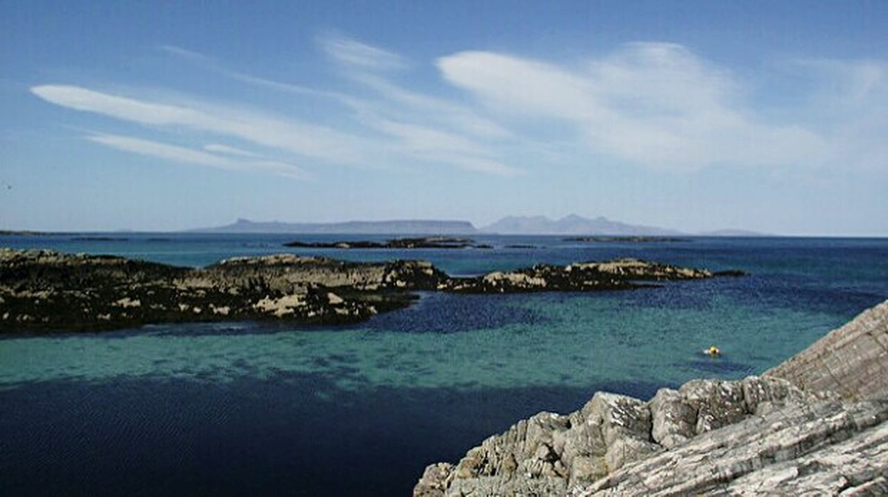 Eigg And Muck Scotland WestCoast Beautiful View