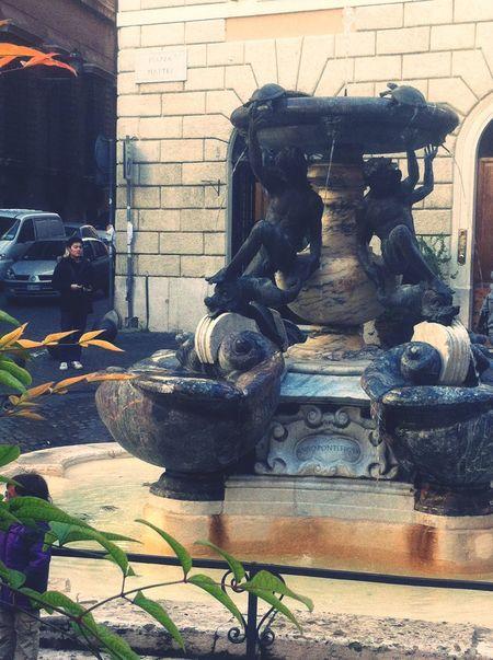 Sant'angelo Fontana Delle Tartarughe Roma Urbanphotography