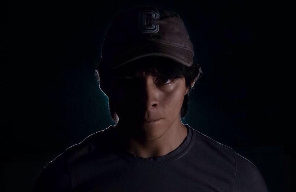 Beautiful stock photos of blitz, shadow, black background, headshot, young adult