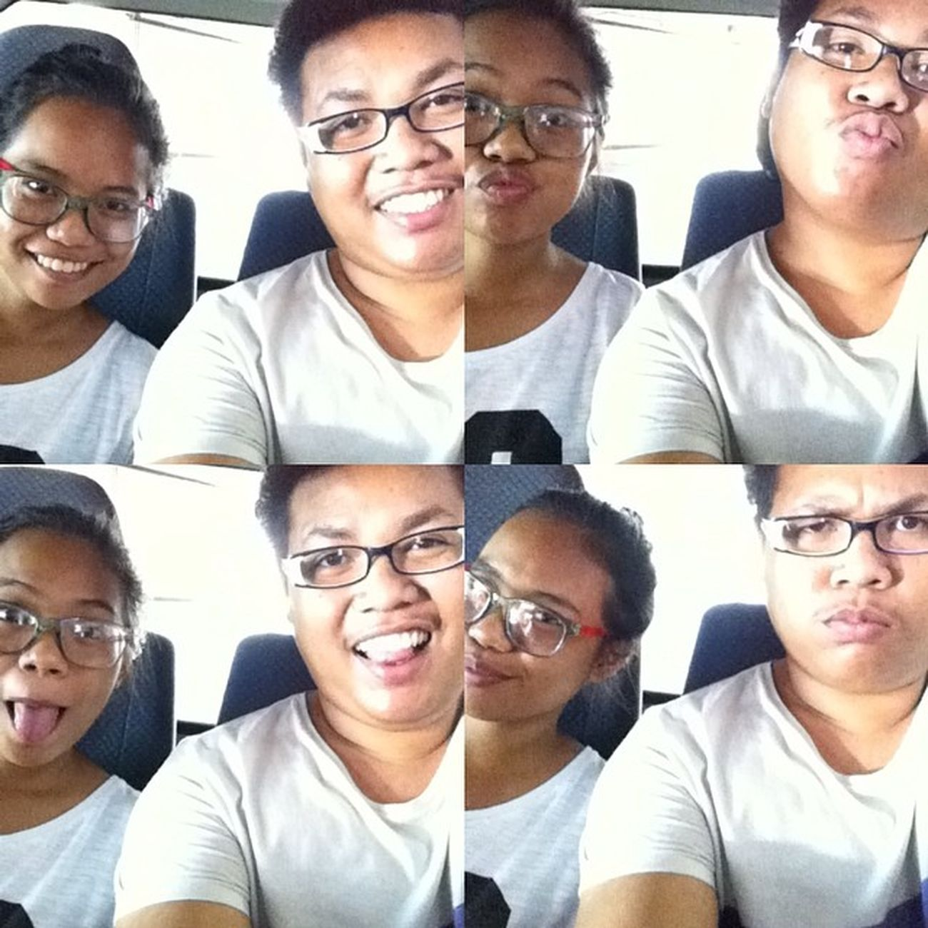 Major Goof. With Neggy. Pacute Akalamomaputi Cute Goofing glasses smile ?