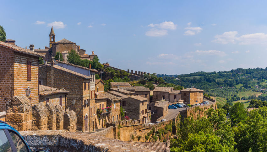 Architecture Beautiful Town Building Exterior Built Structure City Countryside Day Hill Town Italia Italy Nature Old Orvieto, Italy Outdoors Sky Town Travel Travel Destinations Tree Umbria, Italy