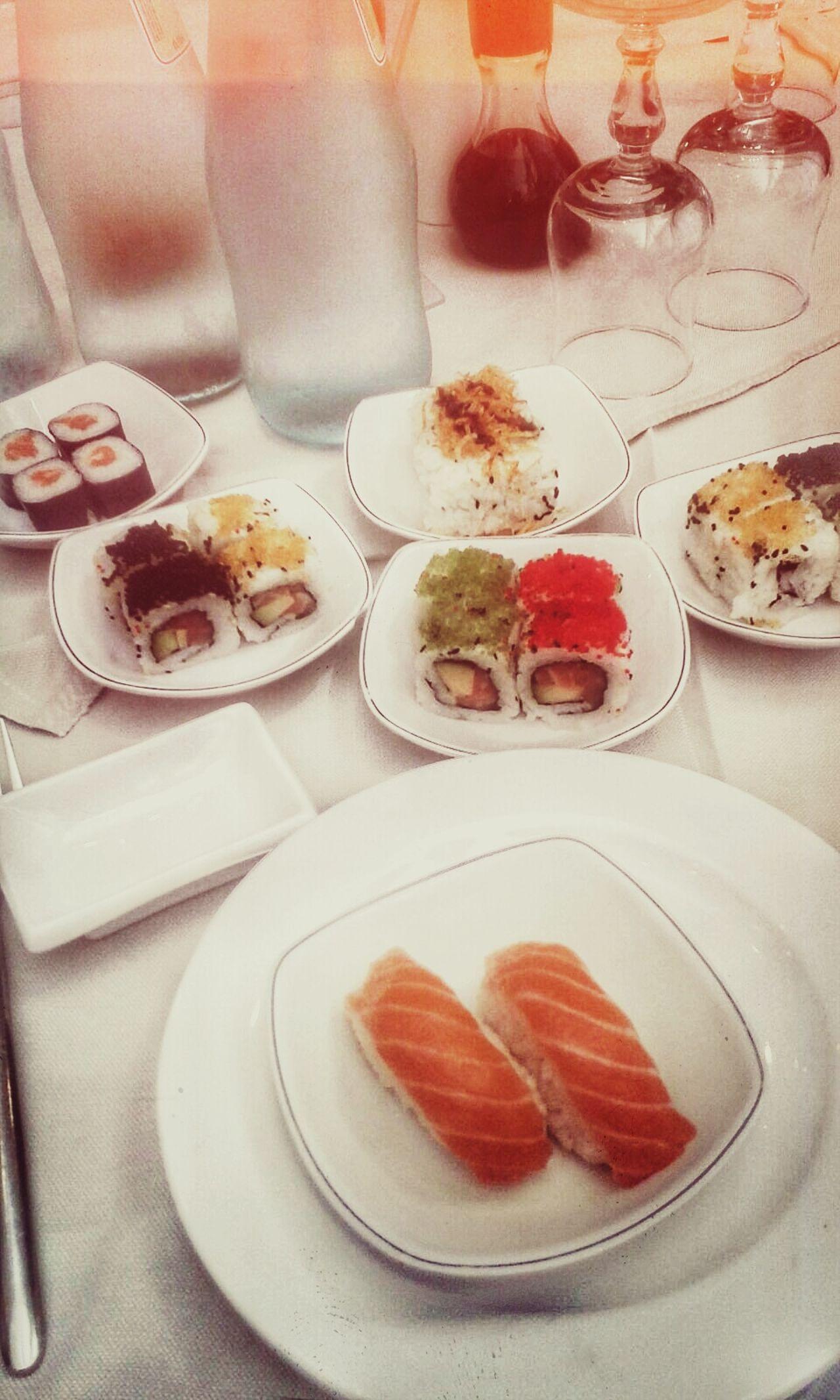 Sushi Restaurant Sushi Time Sushi Love Sunday Happy Color Explosion Spring Gnam Gnam Buon Appetito
