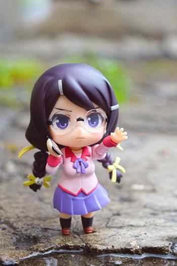 Bakemonogatari Hanekawatsubasa Nendoroid Rain Toy Tsubasa First Eyeem Photo