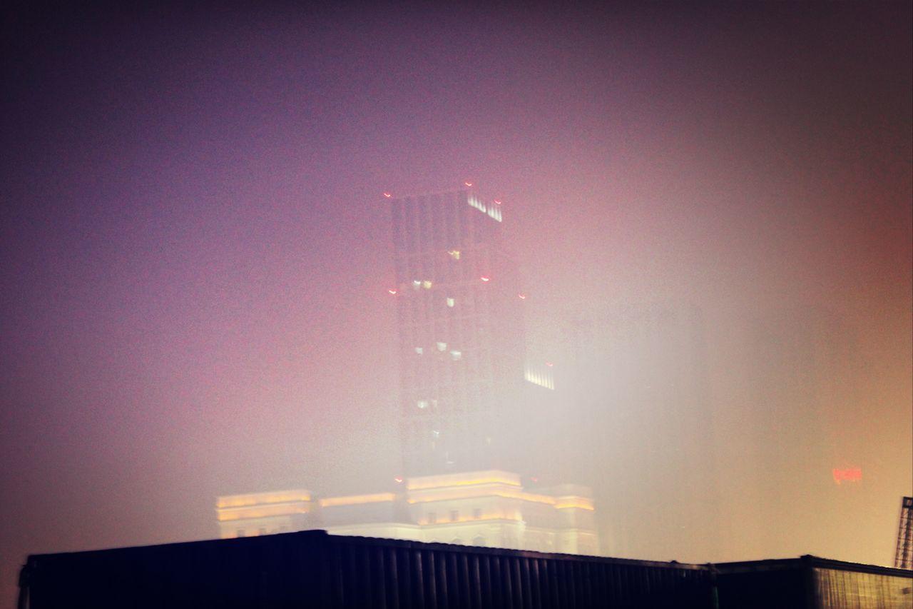 fog Ogilvyouting2014 Sunset