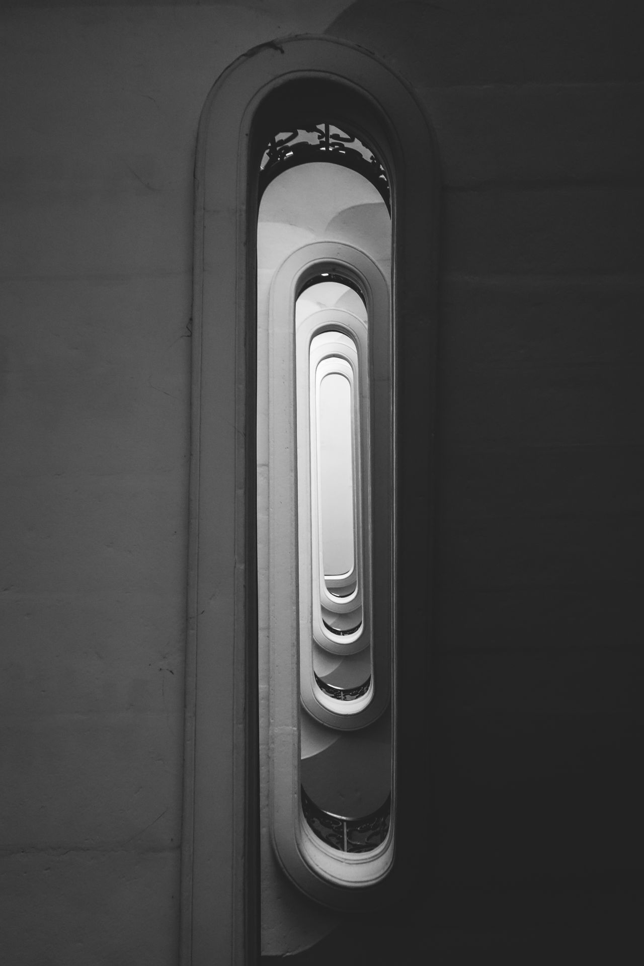 Architecture Architecture Built Structure Close-up Day Hypnotic Indoors  Light No People Spiral Stairs Twilight