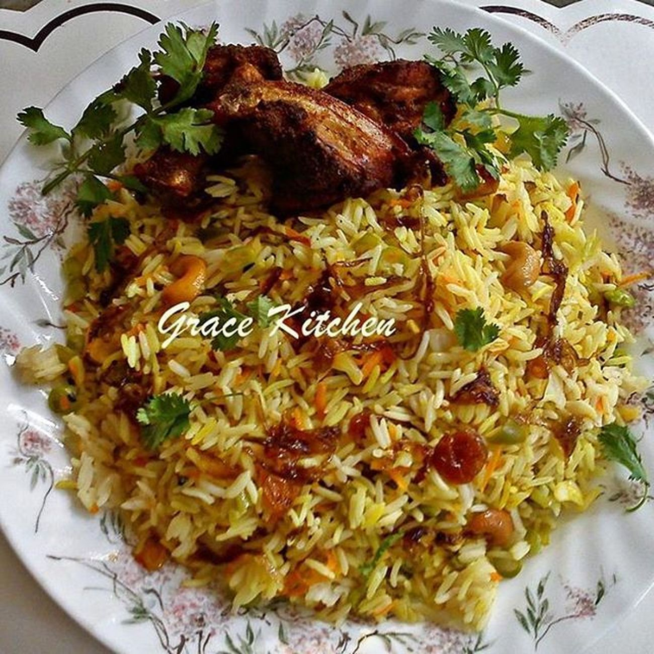 Grace Kitchen® Special Chicken Biriyani Biriyani Chickenbiriyani Gracekitchenktym Asishclicks Mobilephotography Foodies Foodphotography Foodporn Foodgasm Eats Eatthis Food Dish Awesome Tasty Delicious Maincourse Keralastyle Kerala Indianfood Kottayam Indianfood Foodie Chickendish Chickenfry friedchicken