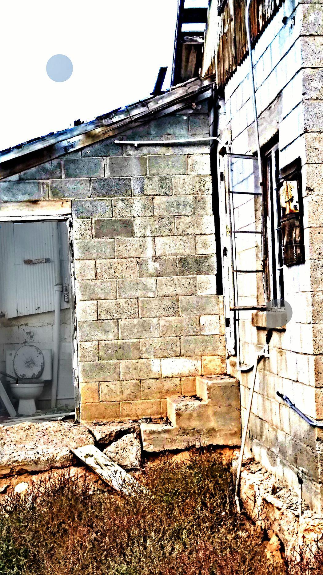 Forgottenspots Forgotten Walls Derelict Toilet Brickhouse Milkhouse No People
