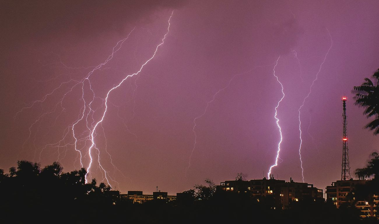 How's The Weather Today? Stormy Weather Thunderstorm Thunderstruck