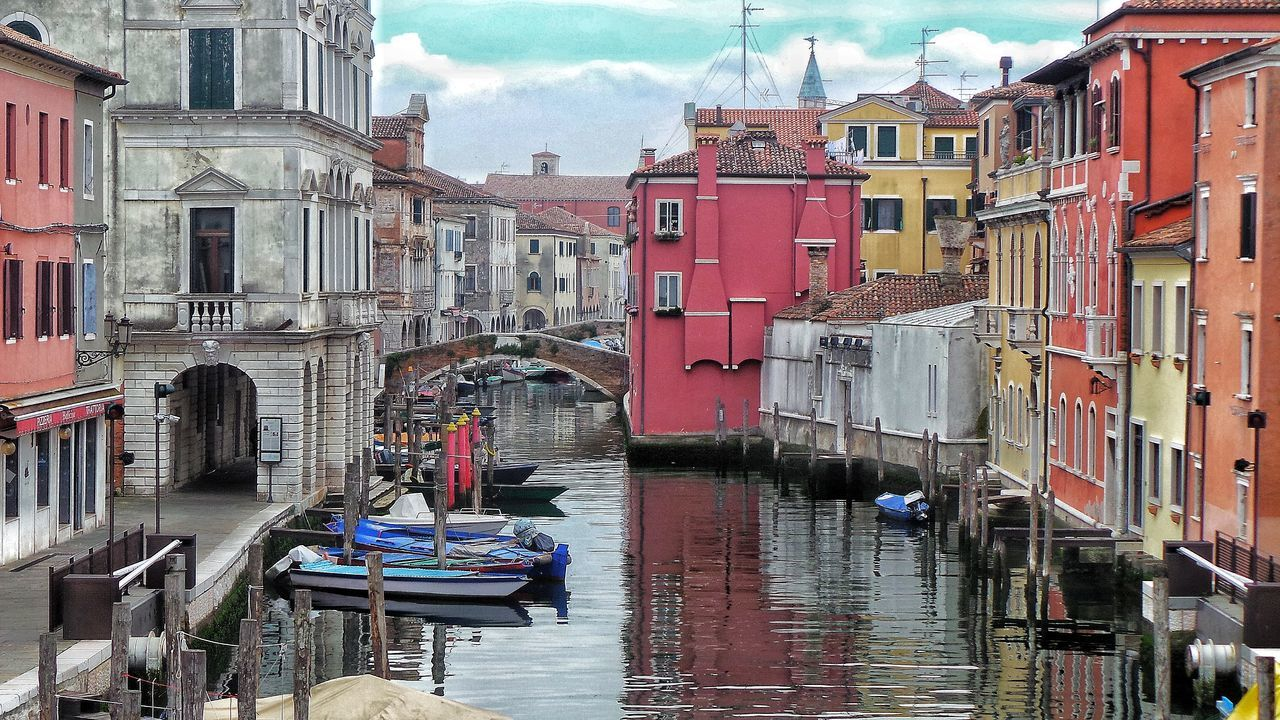 Chioggia, Italy Veneto Canali Building Exterior Architecture Built Structure Outdoors Day Water Sky No People City EyeEm Best Shots Cityphotography Eyem Collection Eyemphotography Bridge Photography Residential Building Streetphotography EyeEm Best Edits Eye4photography  Eyeem Market