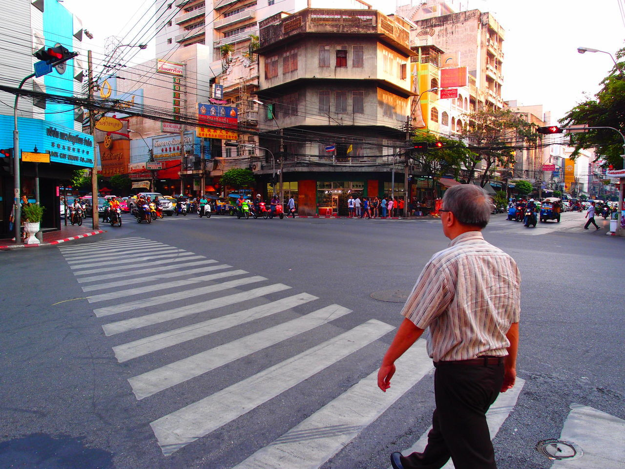 Beautiful stock photos of bangkok, rear view, city, street, adults only