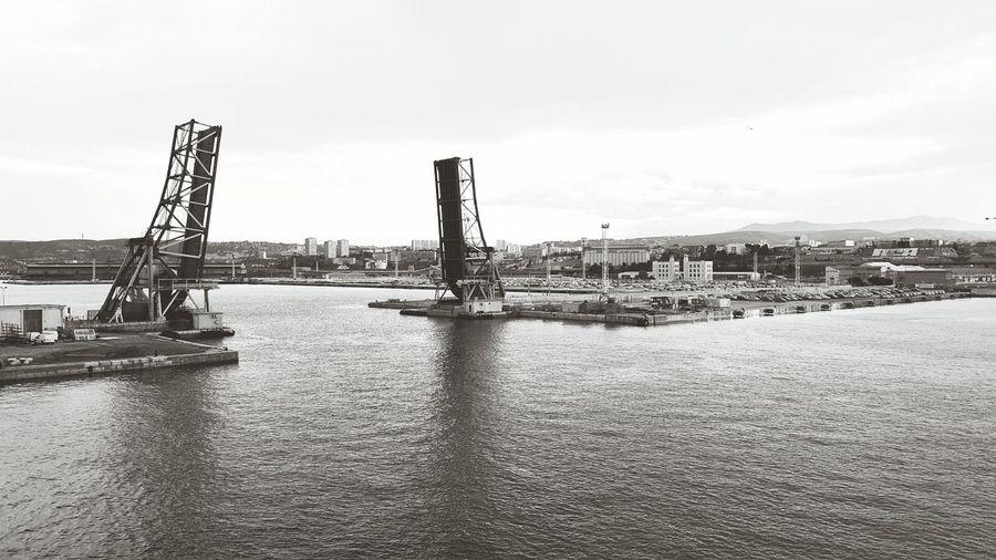 Marselle Franse port sea bridges First Eyeem Photo