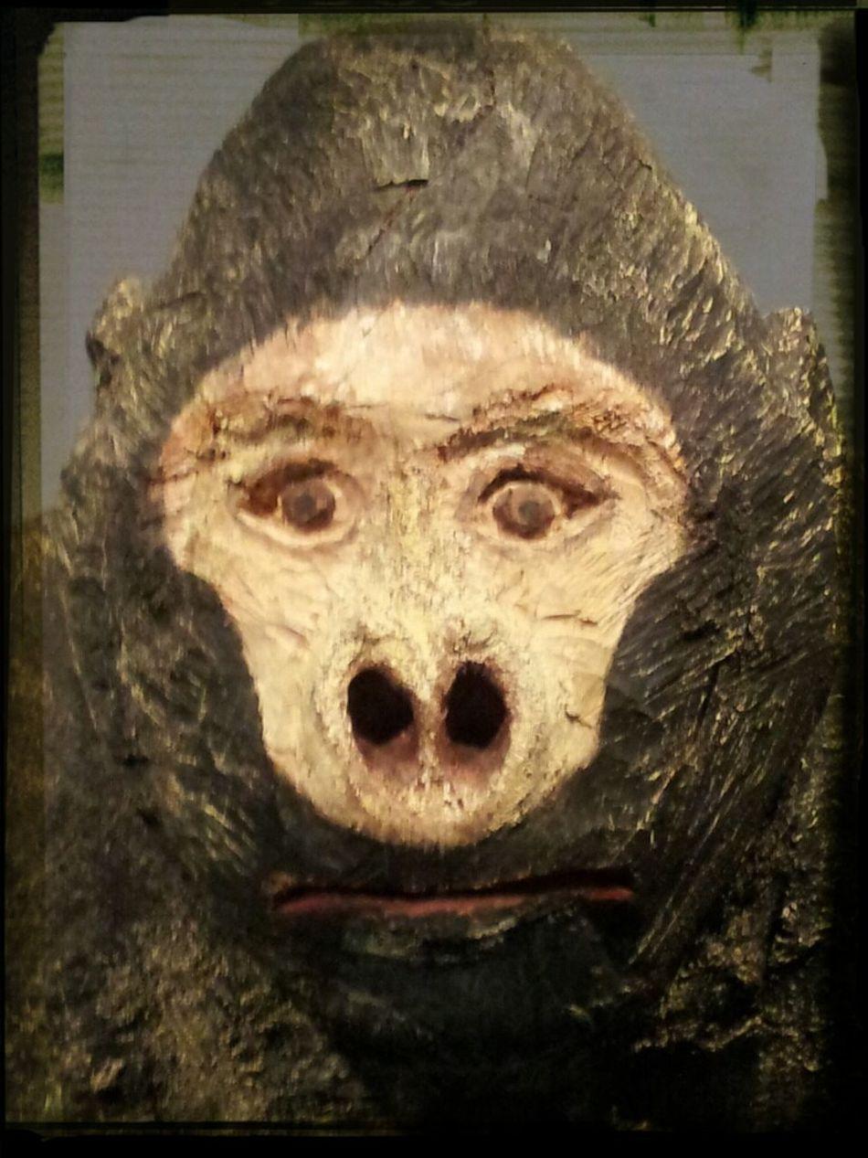 gorilla sculpture by Archuleta Art Walking Around