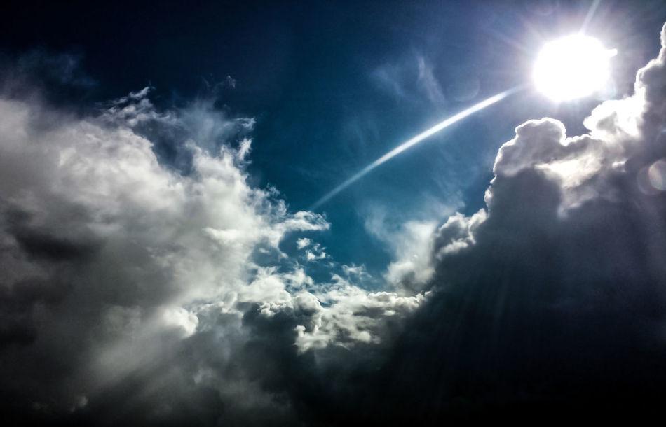 Clouds Sun Sun Rays Sky