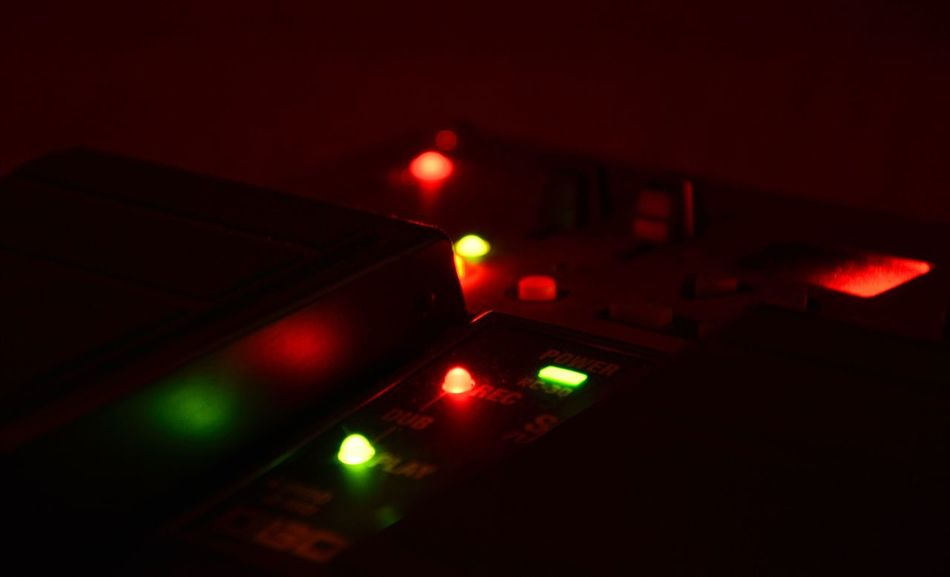 Effects Pedal Boss Effect Pedals Illuminated Night No People Technology Indoors  Close-up Lights Green Red Dark Music Is My Life Musical Equipment Music Nikon D5200 Nofilter Nikon Nikonphotography Looper EyeEmNewHere