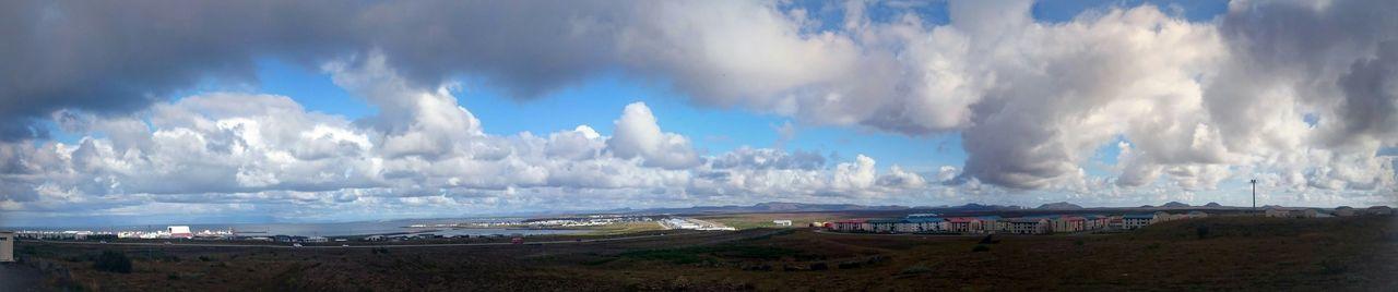 No Filter, No Edit, Just Photography Hanging Out Taking Photos Sky And Clouds ásbrú Njarðvik Panorama