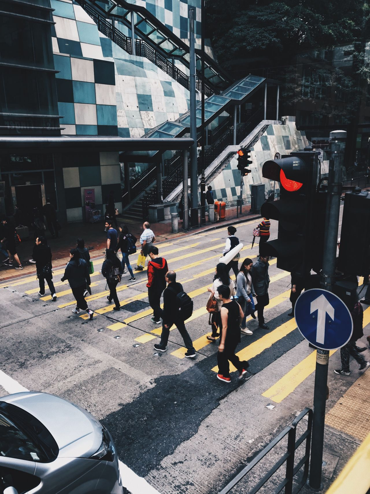 Live For The Story heart of Hong Kong Real People Lifestyles Day Transportation Built Structure Street Women Car Men Outdoors Architecture Full Length Building Exterior Road City Adult People The Street Photographer - 2017 EyeEm Awards