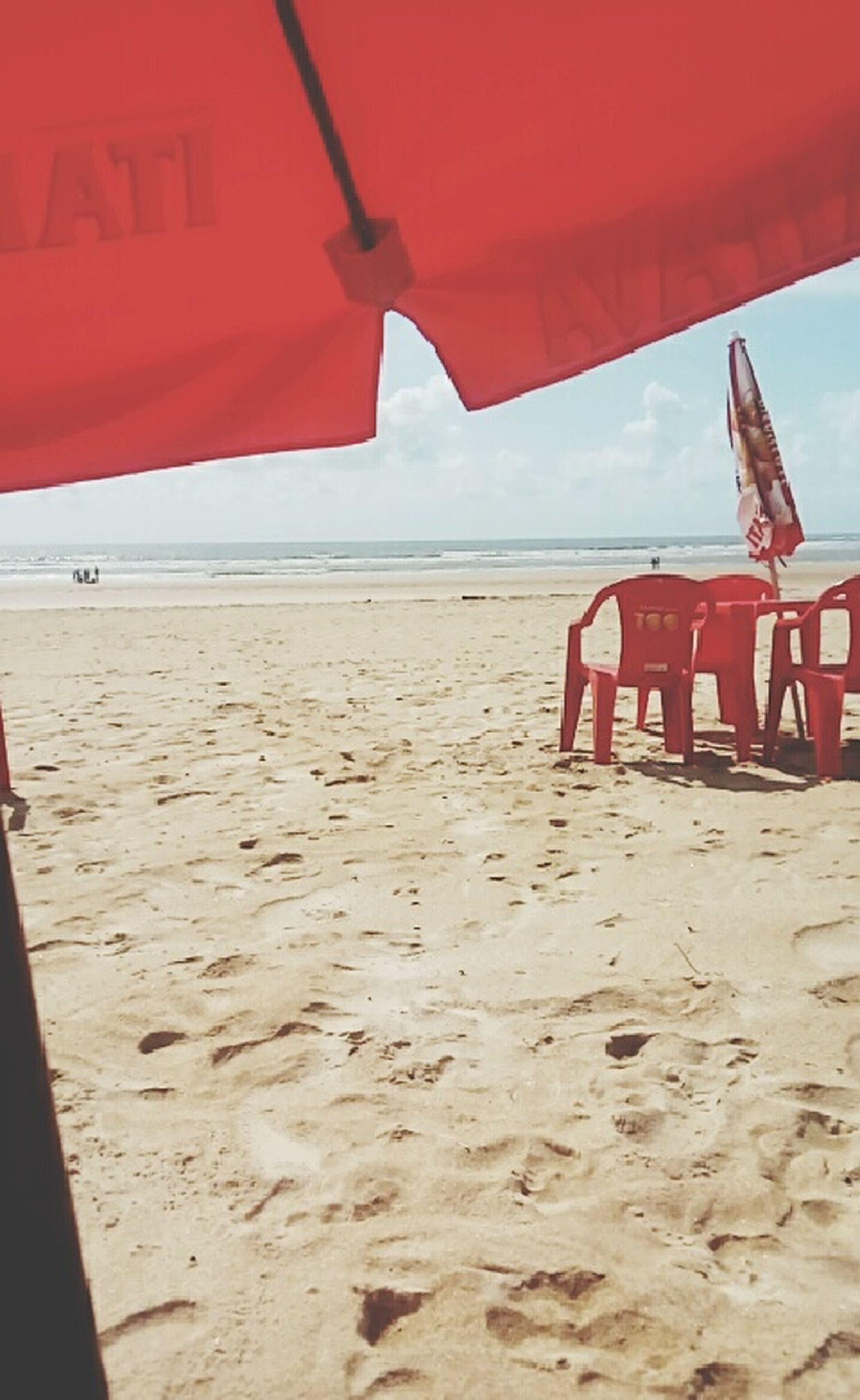 praia, areia, mar, costa, horizonte sobre a água, céu, - EyeEm - 웹