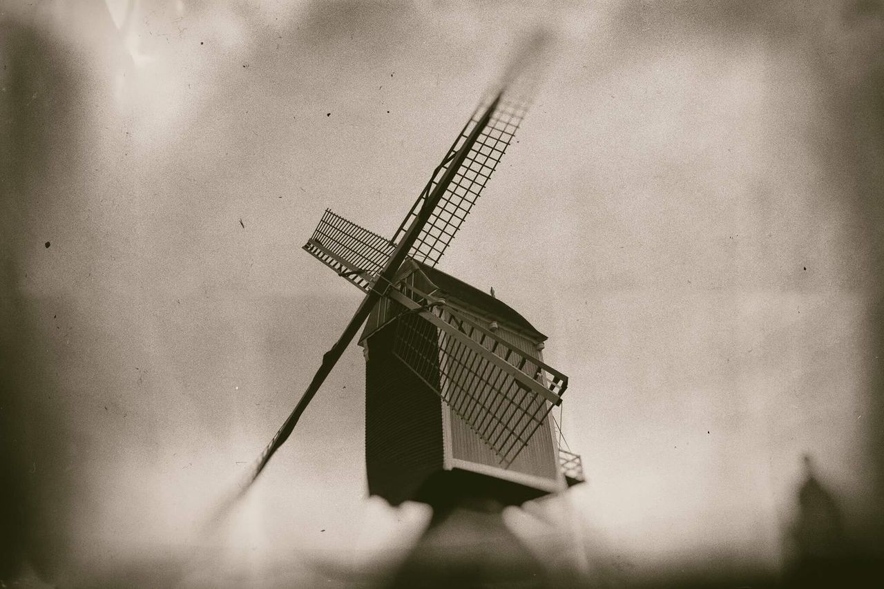 Windmill Vintage Old Buildings Old Belgium Rainy Day Rainy Days Winter First Eyeem Photo