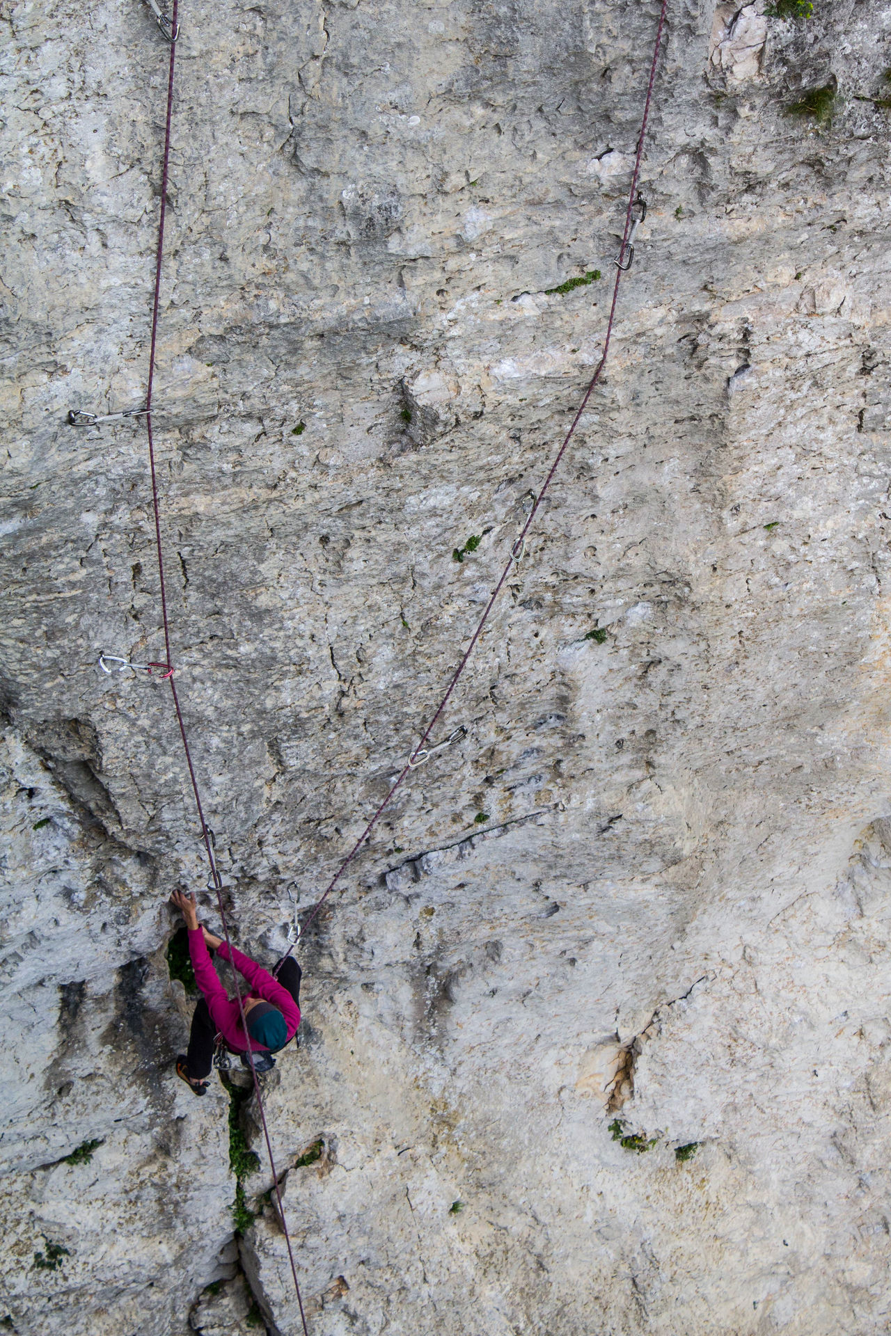 Climb Climber Day High Angle View Outdoors Rock Sport Sports Sports Photography