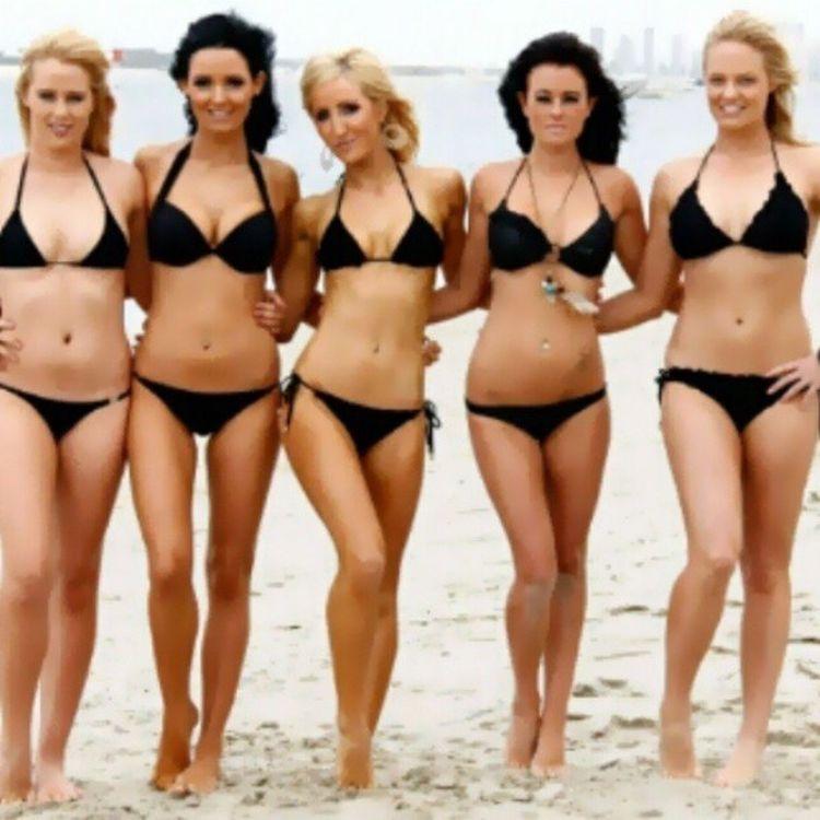 Flashback Friday Swimwearshoot Illistrated Beach Bikinis black