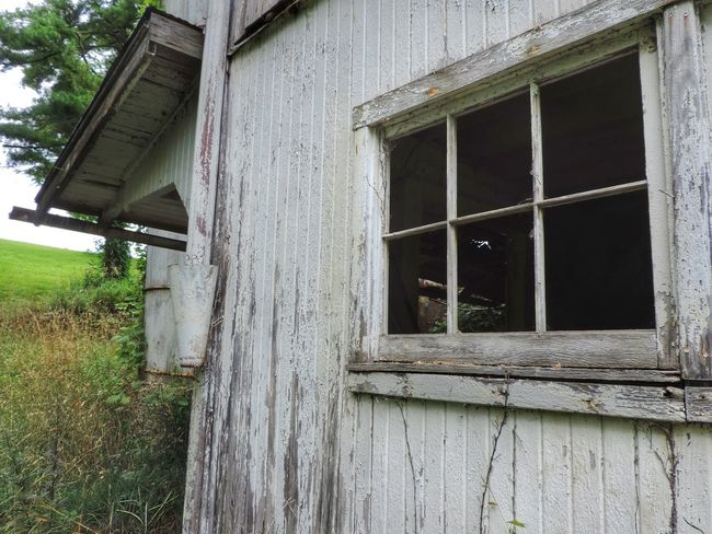 Building Exterior Built Structure Closed Day Deterioration Nature No People Ohio Outdoors Rural Exploration Rural Scene Rurex Window Wood - Material