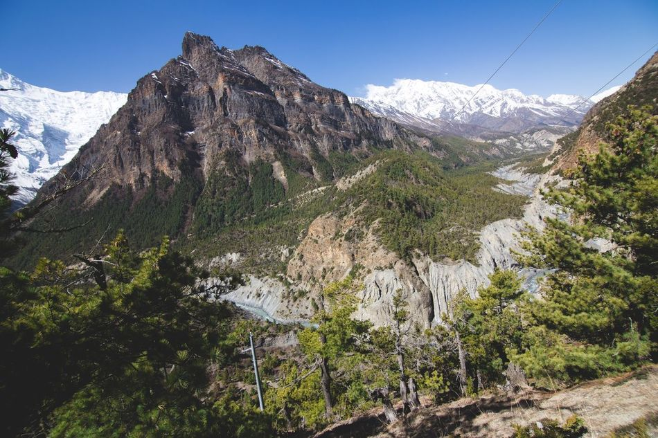 Beautiful stock photos of annapurna, Annapurna, Annapurna Range, Beauty In Nature, Day