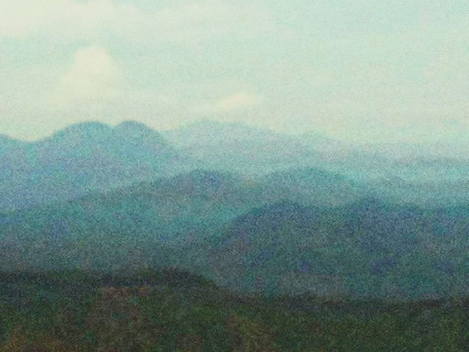 Mountain Range as seen from Mt. Balagbag Summit