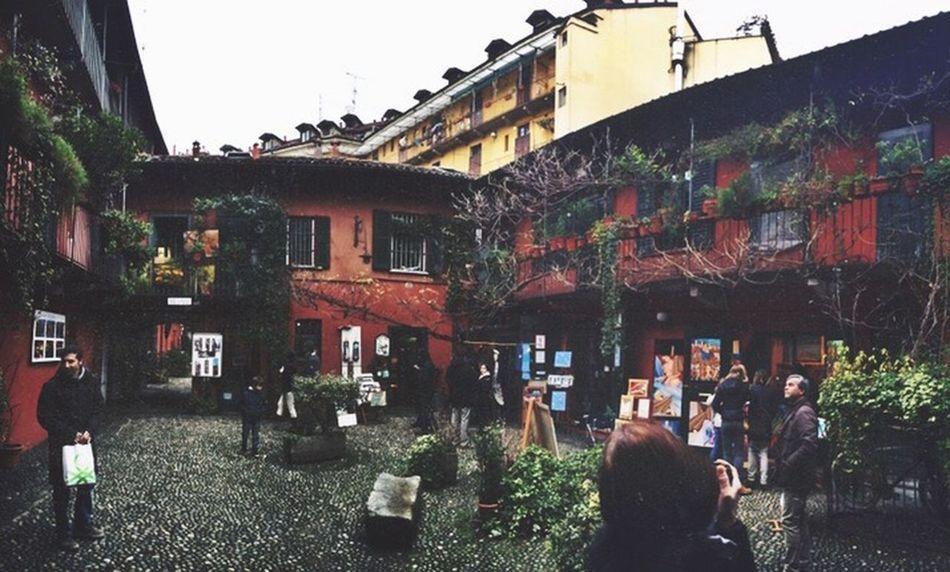 Milano Italy Fleemarket Art